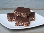 Chocolate Peanut Butter Rice Krispie Treats