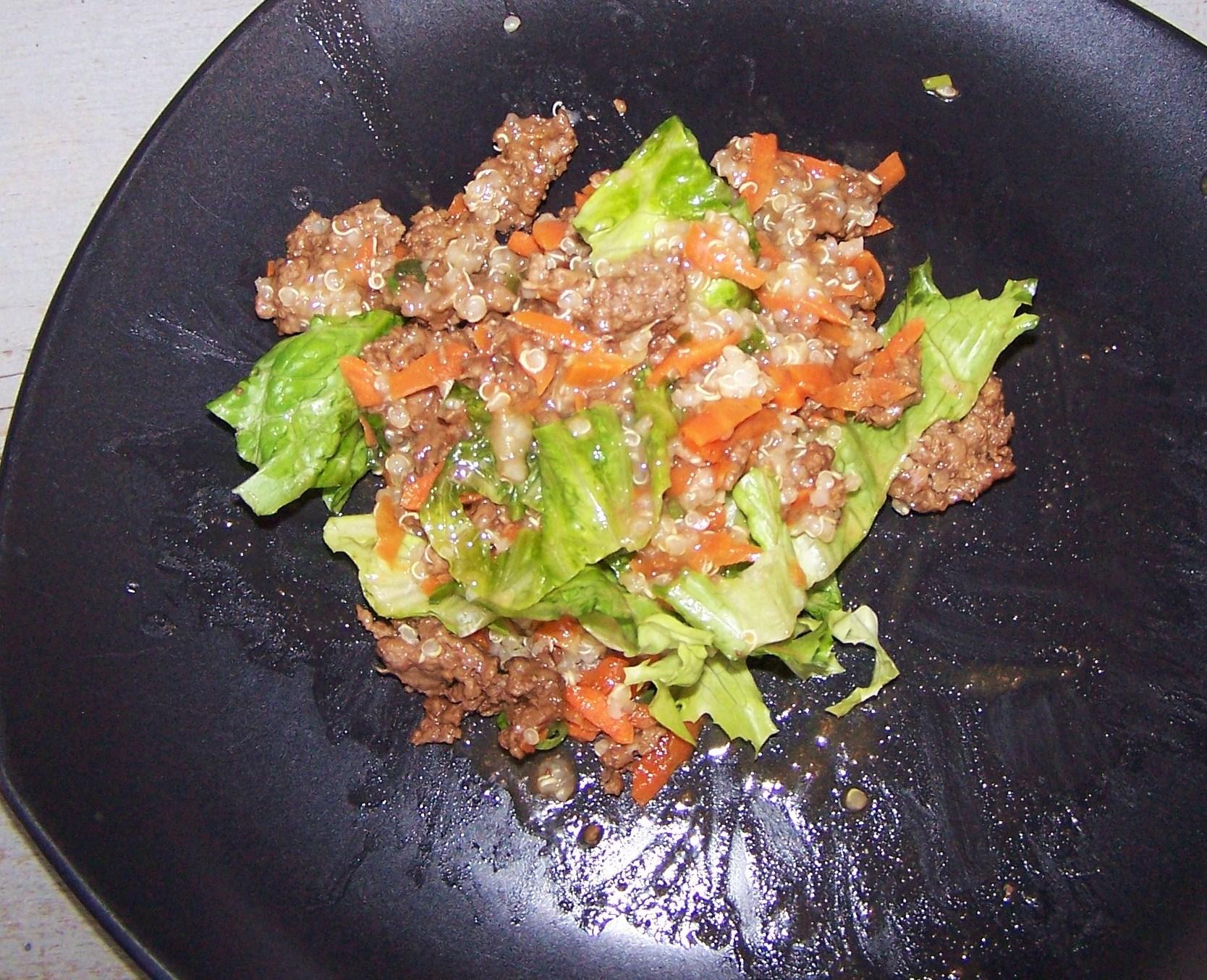 Teriyaki Beef & Quinoa