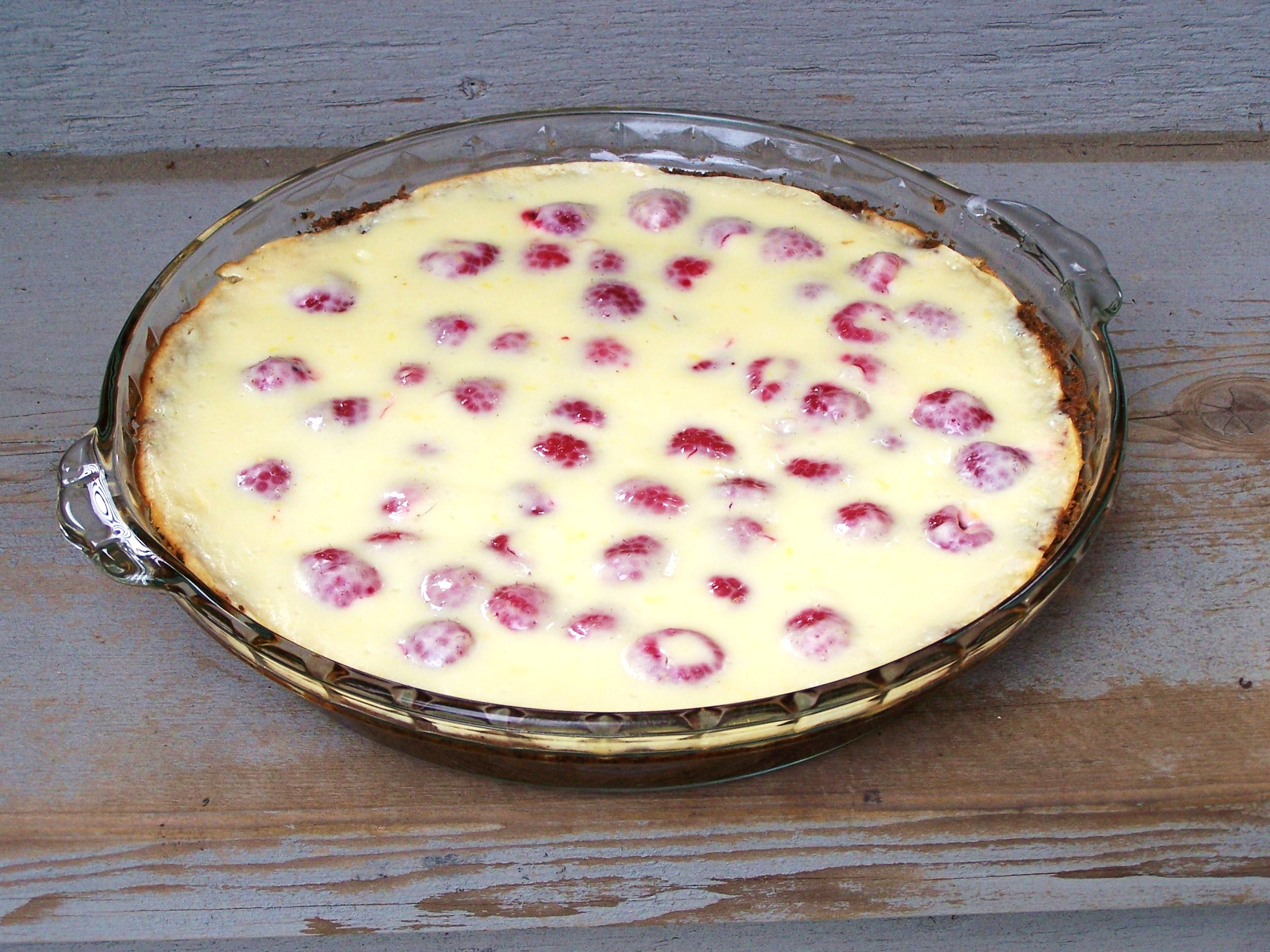 Lemon Raspberry Cream Pie - the biggest summer dessert hit.