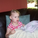 Totally absorbed in TV