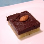 Saturday Sweets: Almond Fudge-Topped Shortbread