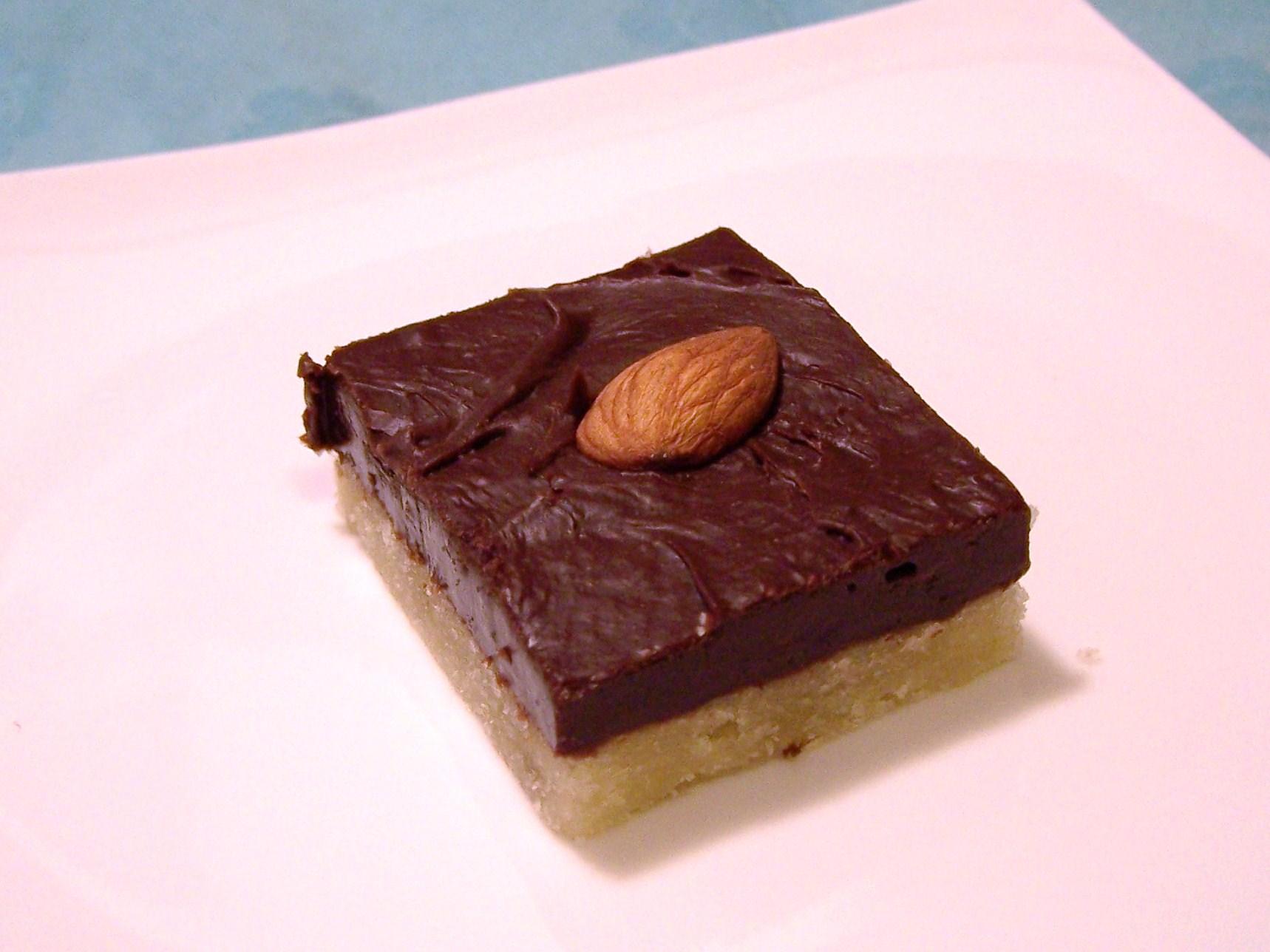 Almond Fudge Shortbread