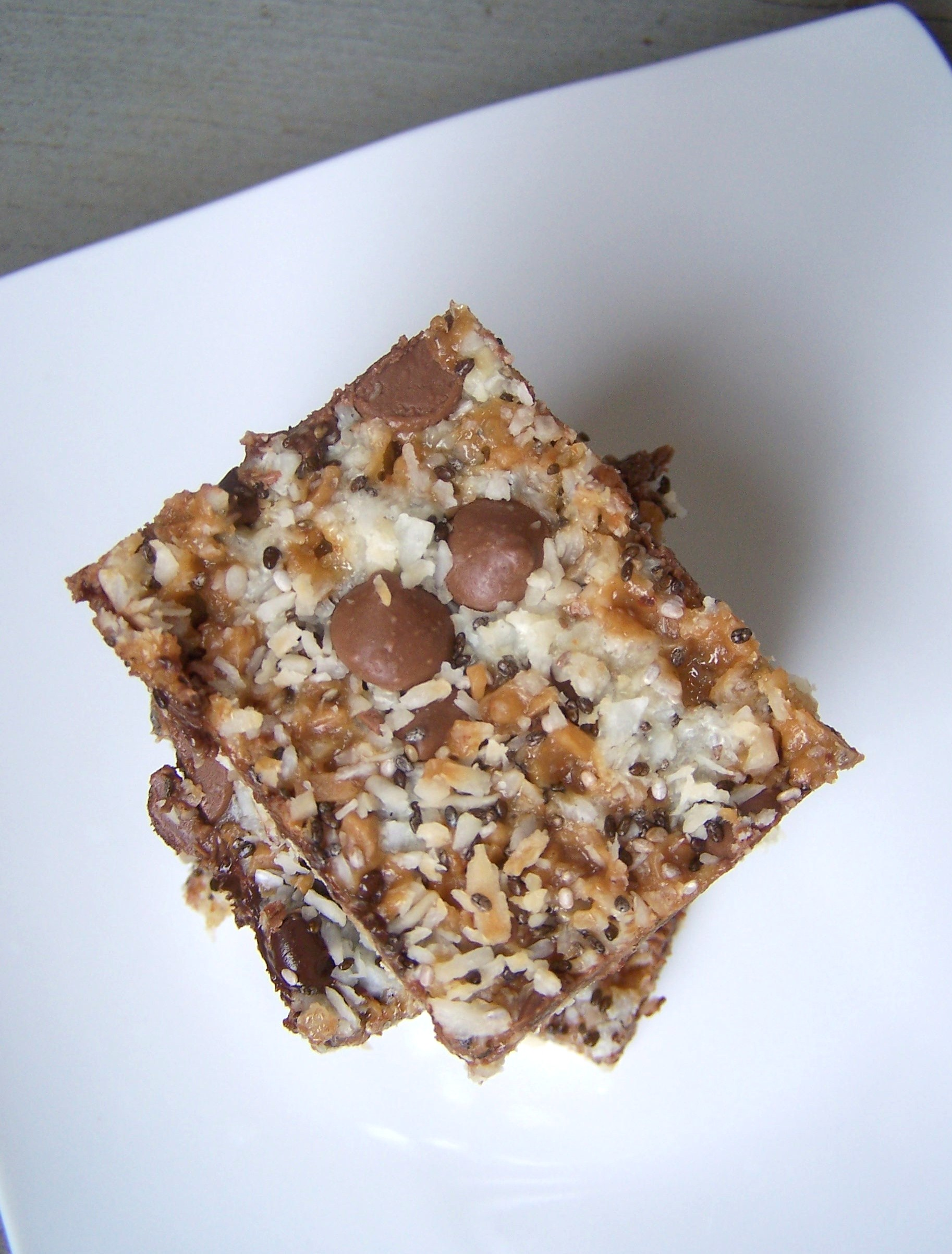 Magic Chocolate Toffee Squares