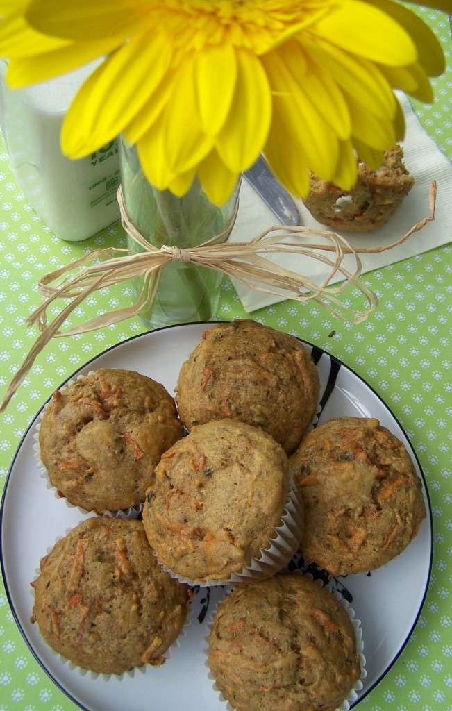 Garden Vegetable Muffin Recipe