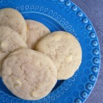 Lemon White Chocolate Sugar Cookies