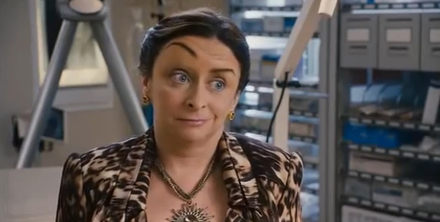 Just Go With It Girl With Eyebrow