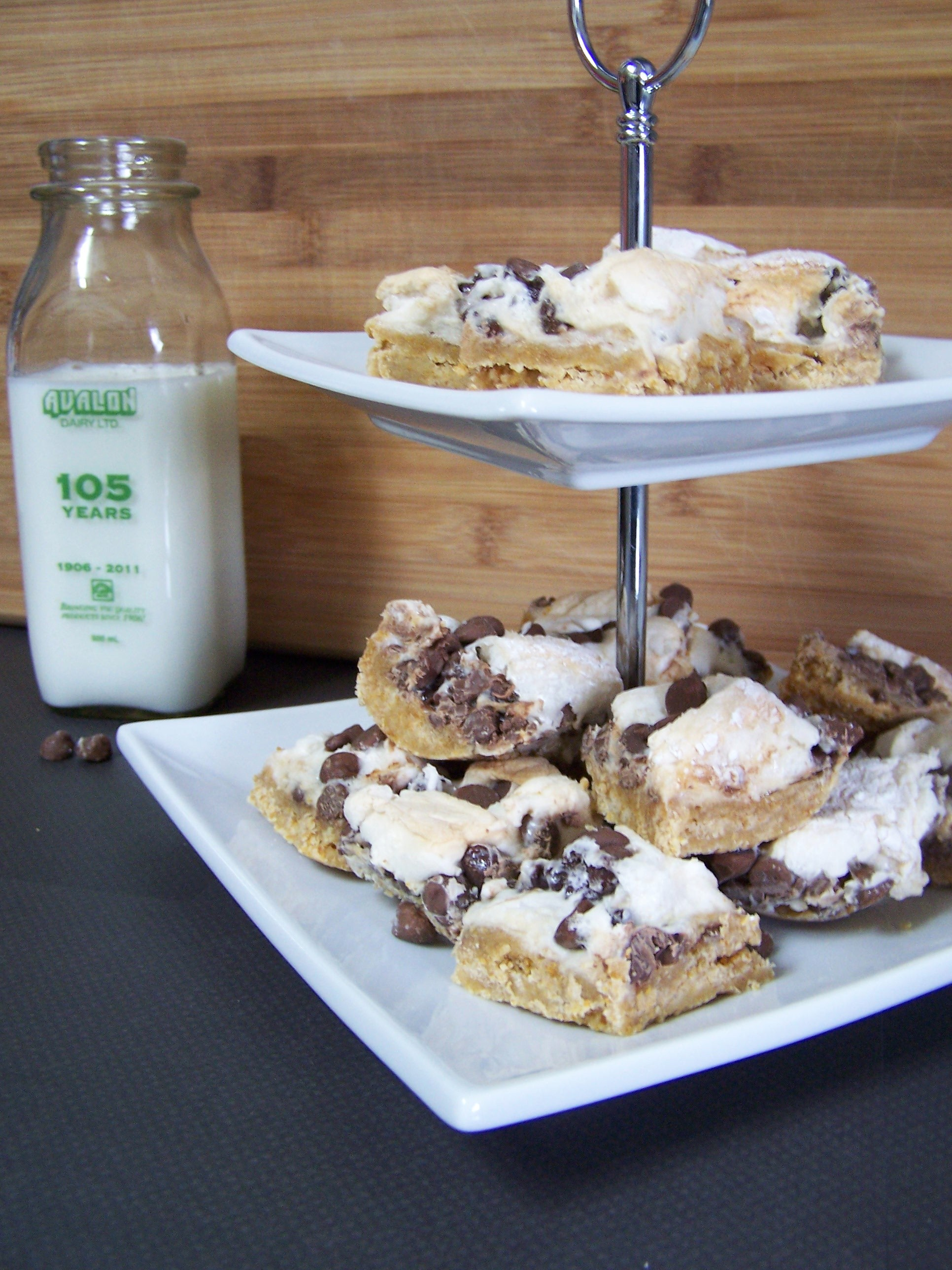 Serious sex-in-a-pan s'mores bars. Check back later this week for that ...