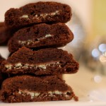Saturday Sweets: Chocolate Mint Surprise Cookies