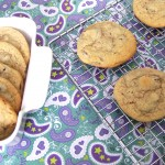 Saturday Sweets: Dark Chocolate Almond Cookies