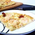 Shrimp & Bacon Caesar Pizza
