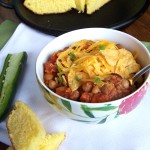 Spicy Quinoa Chili & Cornbread