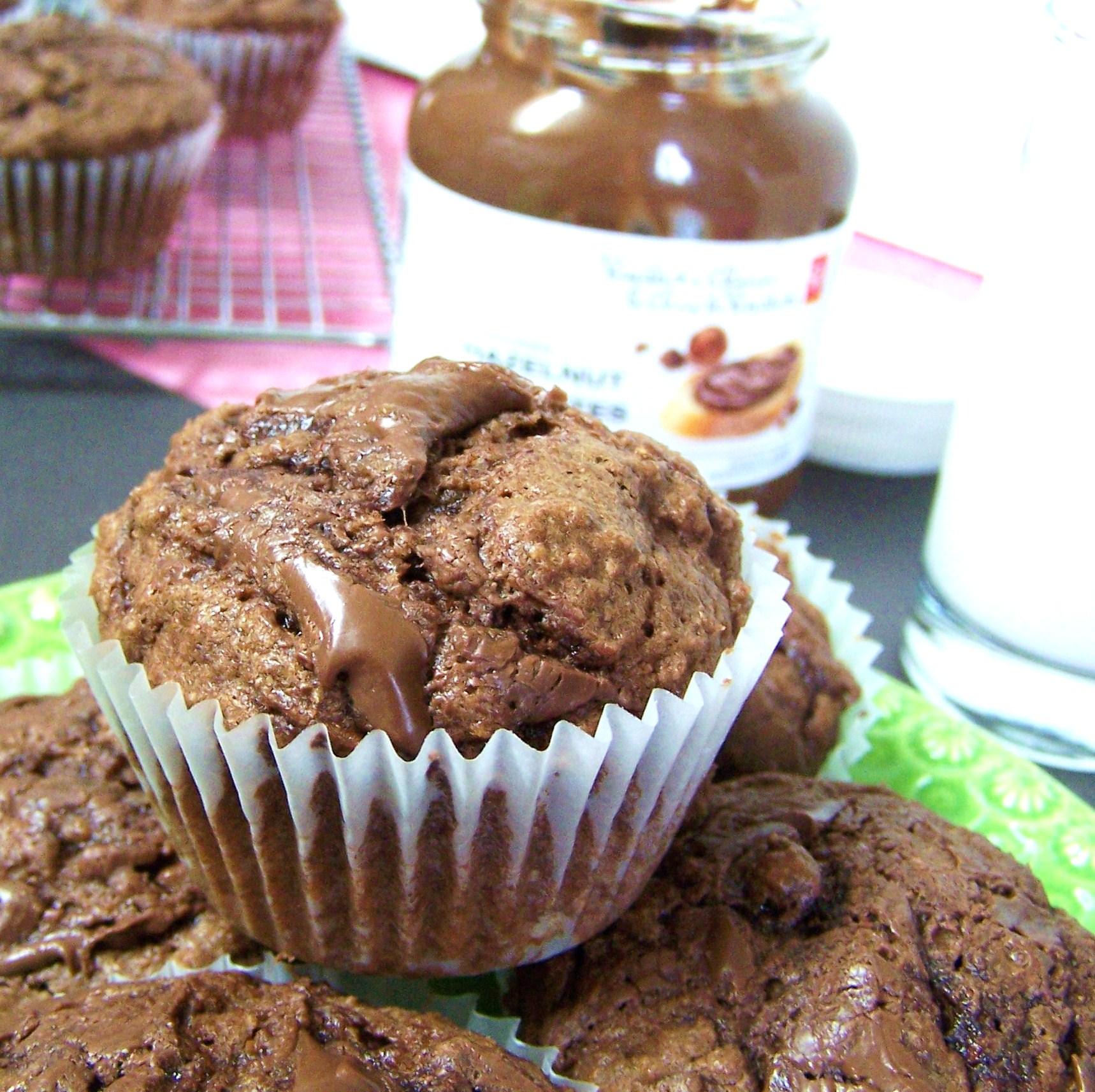 cupcake nutella swirl muffins zucchini muffins with nutella which ...