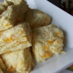 Easy Cheddar Chive Biscuits