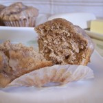 Glazed Chai Spiced Muffins