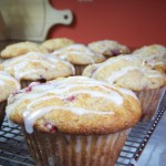 Whole Wheat Lemon Raspberry Muffins