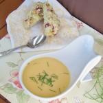 Cauliflower Sweet Potato Soup