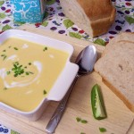 Butternut Squash & Jalapeno Cream Soup