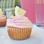 Pink Lemonade Cupcakes {cookbook review}