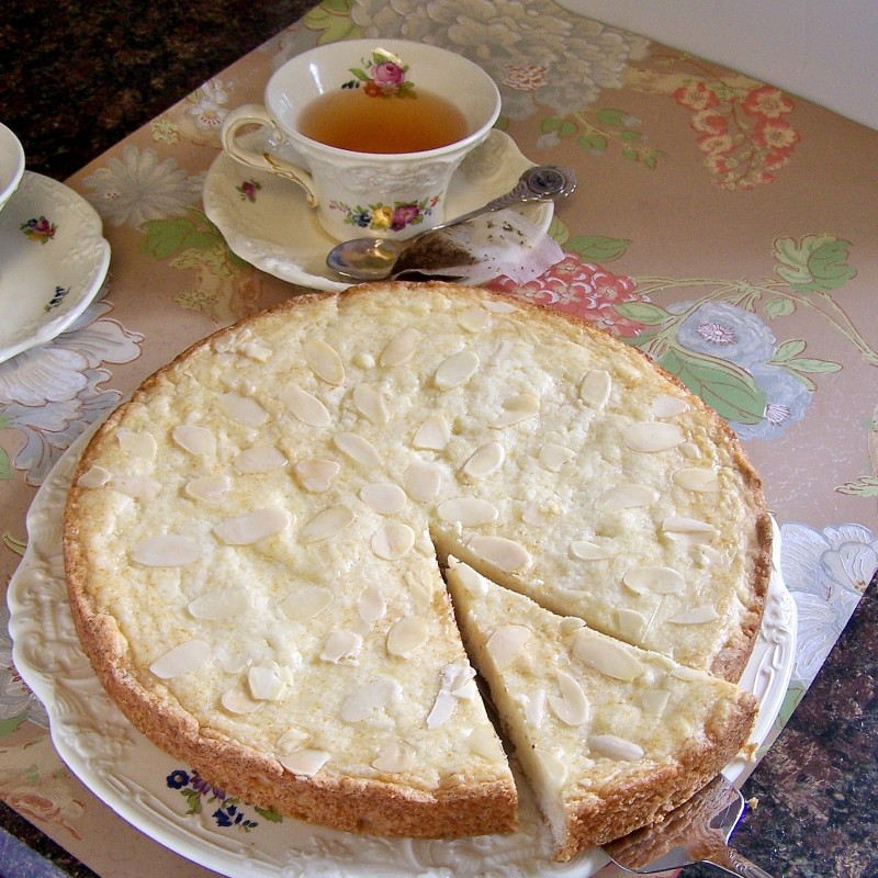... almond cake, but we grew up calling it Butter Cake and the name stuck