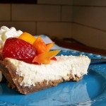 Saturday Sweets: Honey Yogurt Cheesecake
