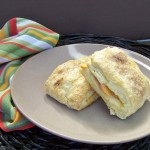 Peach Cobbler Scones