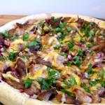 Sweet & Savoury Pork Pizza