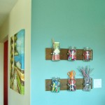 Mason Jar Display Wall – Take 2