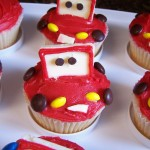 Saturday Sweets: Lightning McQueen Car Cupcakes