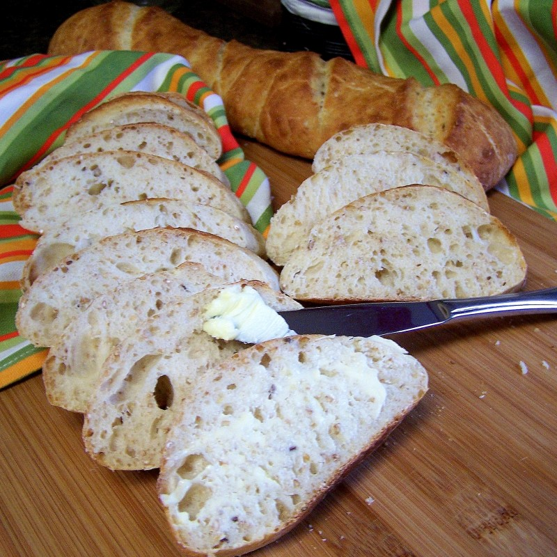 Homemade French Bread Baguette