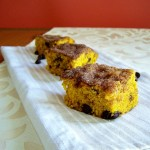 SATURDAY SWEETS: Pumpkin Chocolate Toffee Coffee Cake
