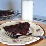 merlot skillet cookie square