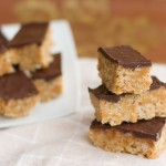 Saturday Sweets: Peanut Butter Rice Krispie Squares