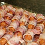 Bacon-Wrapped Mini Sausages