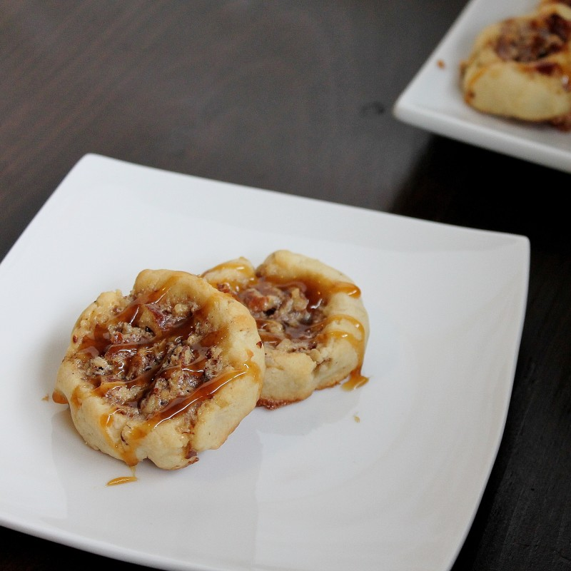 pecan thumbprint cookie