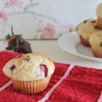 Strawberry Chocolate Muffins