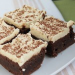 Saturday Sweets: Fudgy Brownies with Cookie Dough Frosting