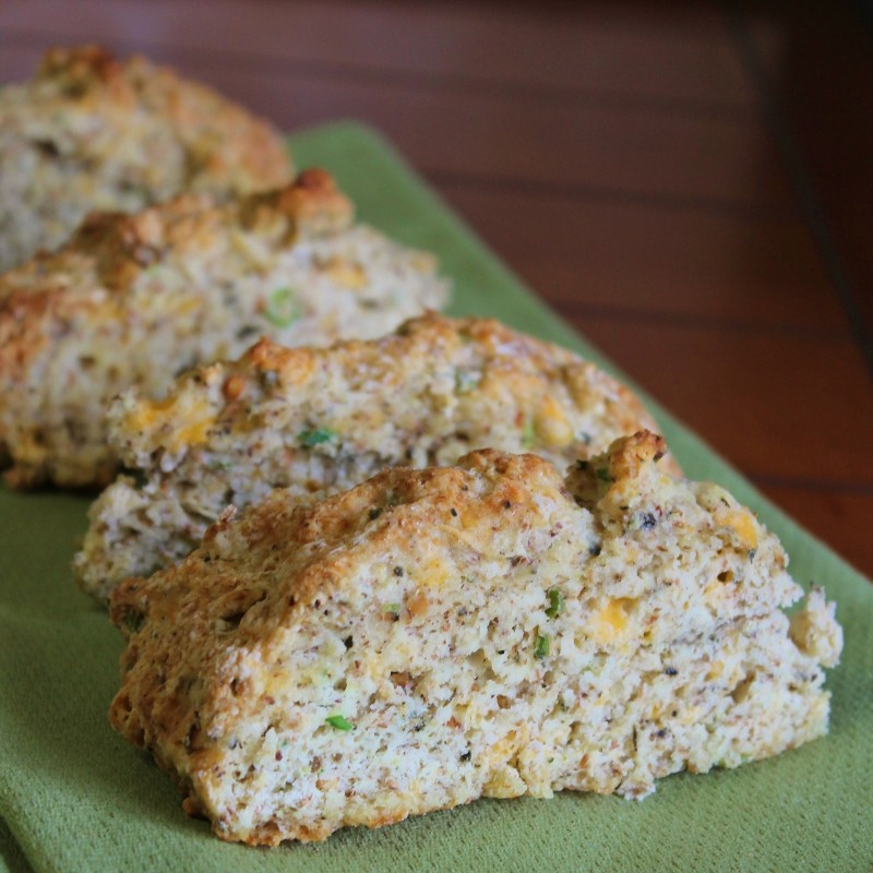 Cheesy Herb & Garlic Scones