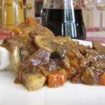 Mom's Beef Bourguignon