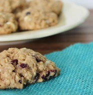 Good grains fruit and oat cookies