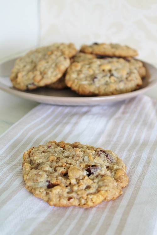 Cereal Cookies - the perfect way to use up the end of various cereal boxes!