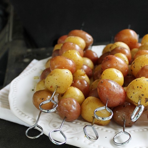 New Potato Skewers