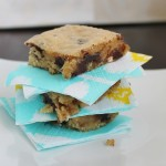 Saturday Sweets: Salted Pretzel Blondies