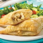 Chicken, Apple, & Brie Pastries
