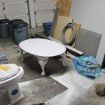 Furniture Refinishing: Oak Coffee Table