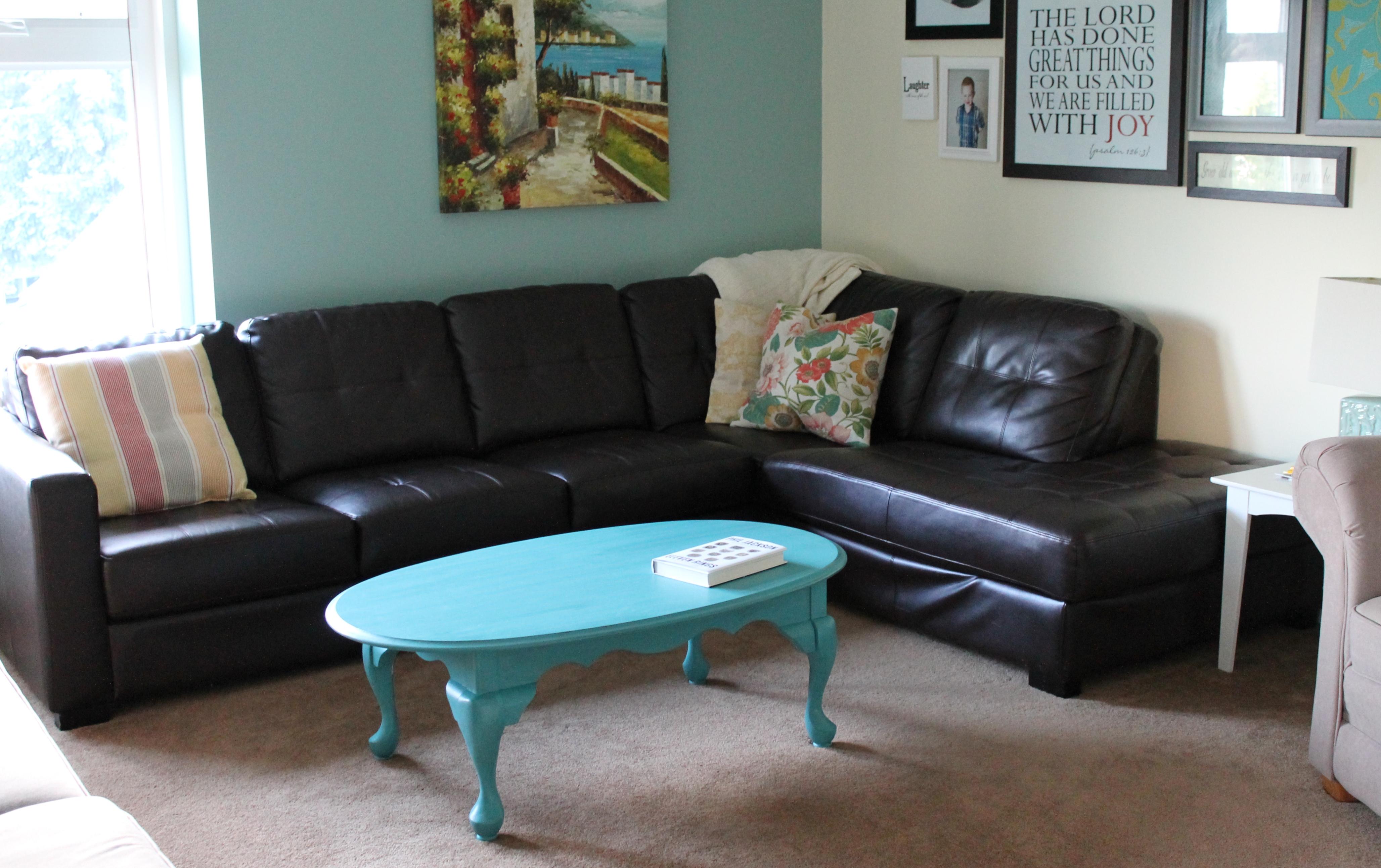Furniture Refinishing Oak Coffee Table