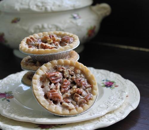 Butter pecan tarts