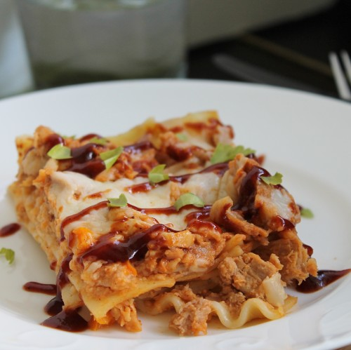 Pulled Pork Lasagna