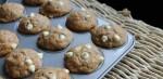 Mini Banana Muffins with White Chocolate Chips