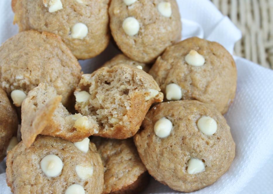 Chocolate, Banana, And White Chocolate Chip Muffins Recipes ...