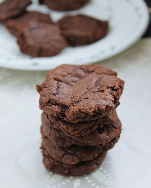 Rich, perfect chocolate cookies